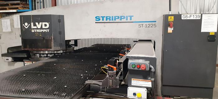 Used 2008 22 Ton Strippit ST-1225 CNC Turret Punch
