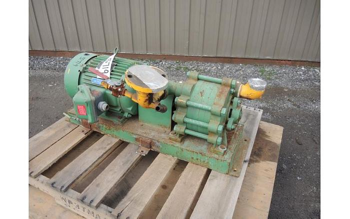 USED REGENERATIVE TURBINE PUMP, 2'' INLET & OUTLET