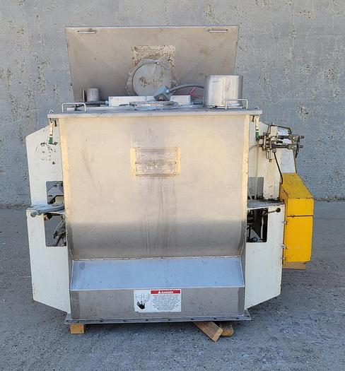 Used 500 LITER AMERICAN PROCESS SYSTEMS FLUIDIZED ZONE MIXER - MODEL FZM-18-H