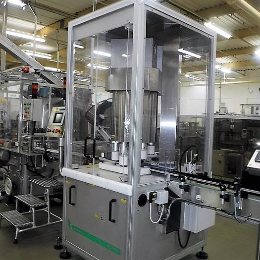 Romaco BOSSPAK MC8000 Screw Capper