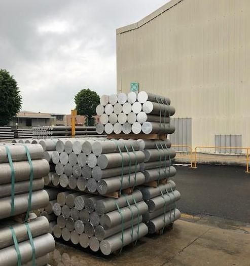 "1800 mton x 7"" Sutton-Breda Aluminum Profile Extrusion Line with Turla Log Saw System"