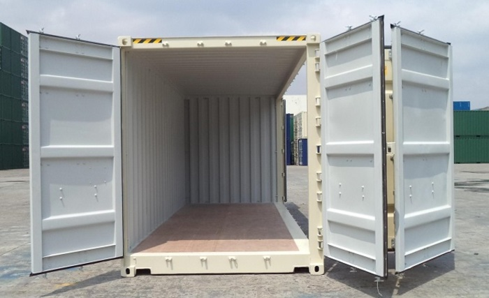 "20 'Container 9'6 ""Right side Open"