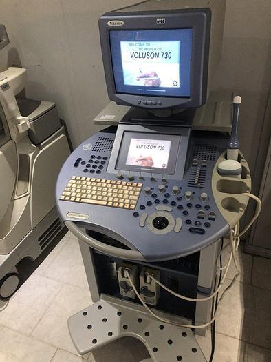 Gebraucht GE Voluson 730 Expert Ultraschallsystem mit 2x Sonden, DVD Multi Recorder
