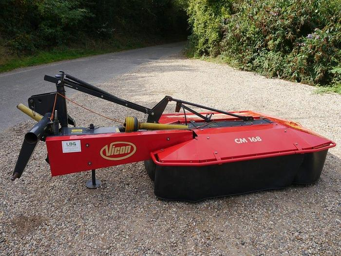 Used Vicon CM168 Disc Mower