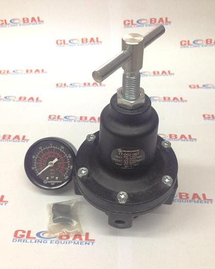Item B&H-0005 : Air Pressure Regulator for Ingersoll-Rand / Atlas Copco T4 and/or RD20 Drill Rig