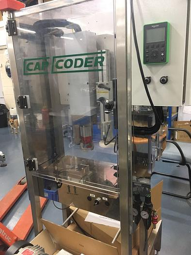 Cap Coder Semi Automatic Capper