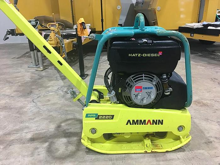 Used 2014 Ammann APR 2220 Reversible Plate Compactor