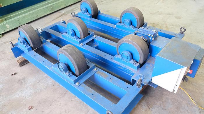 Used Heavy Duty set of 3 Variable speed welding rotators