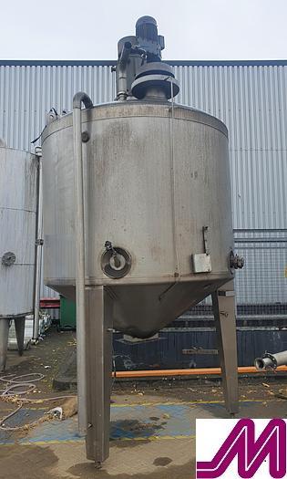Used Holvrieka 5,000 litre Insulated Mix Tank