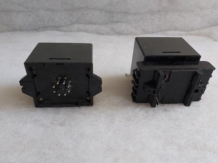 2 pcs. Level monitoring relay + 1 plug in socket, 61F-GP, Omron,  new