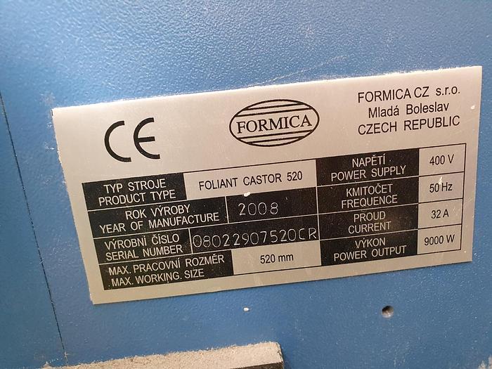 2008 FORMICA Foliant CASTOR 520