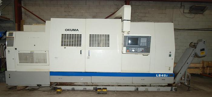 OKUMA, LB45II, CNC LATHE