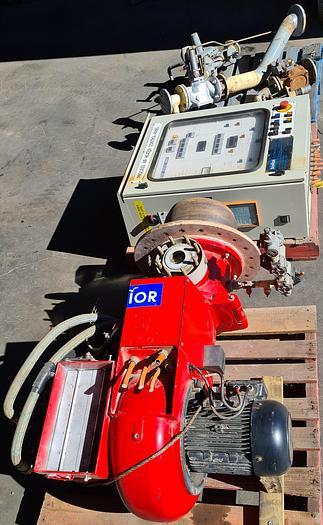 Used WEISHAUPT Gas Burner RGL11/1-D