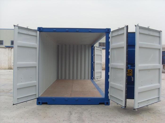 "20 'Container 8'6 ""Open Right Side"