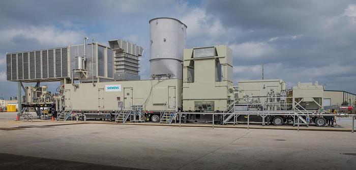 Used 45 MW Used Siemens SGT A45 Gas Turbines