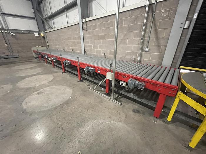 Used DAN 20030 Roller Pallet Conveyer