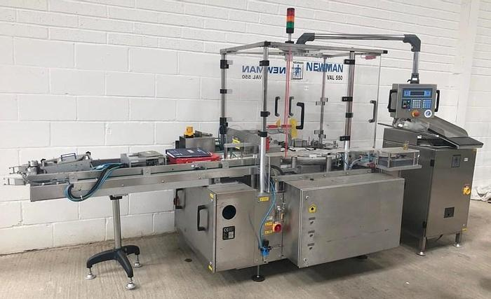 Used Newman VAL 550 High Speed Labeller