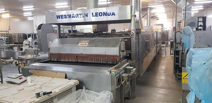 Used 2012 WESMARTIN LEONDA TUNNEL BAKERY OVEN