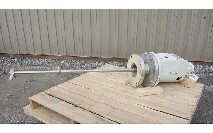 USED LIGHTNIN TOP ENTRY AIR MIXER, VARIABLE SPEED