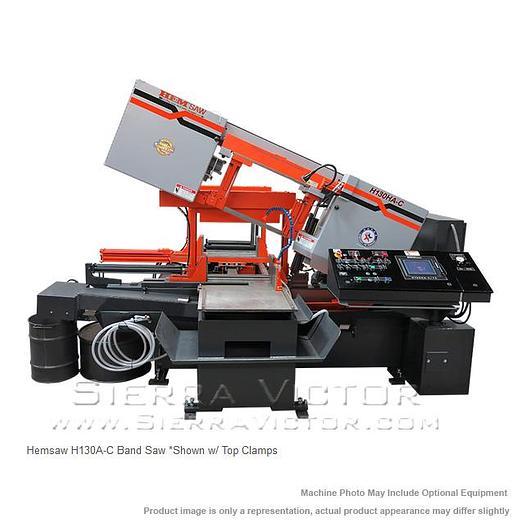 HE&M Horizontal Pivot Bandsaw H130HA-CTS