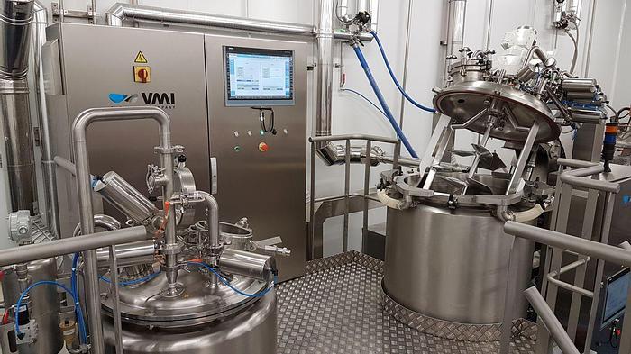 360 Liter VMI Misceo Vacuum Homogenizer Mixer (#9849)