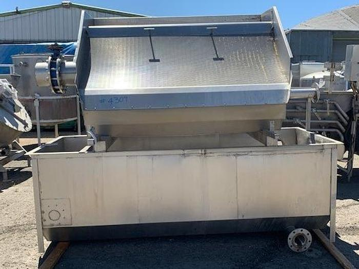 Used Lyco Dewatering - Wastewater Screen with Recovery Tank