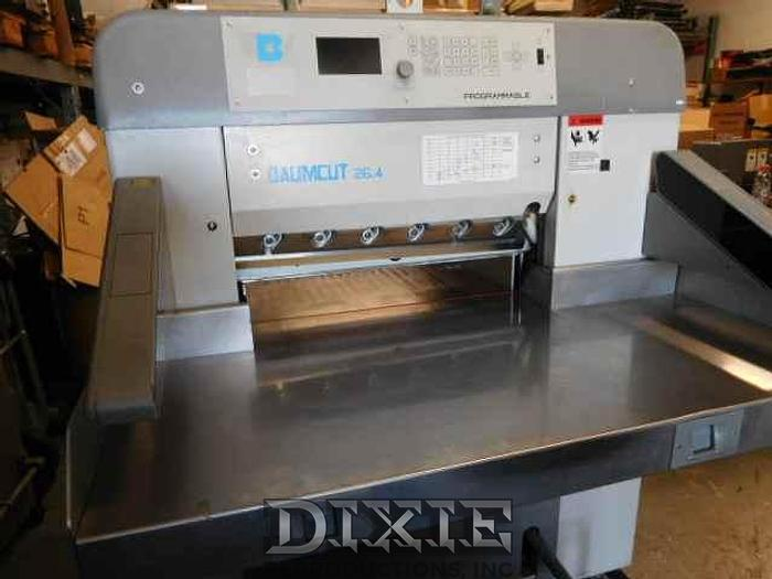 Used 2005 Baum 66 Paper Cutter
