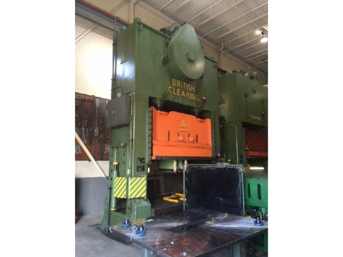 "350 ton Clearing 110""x64"" Used Stamping Press"