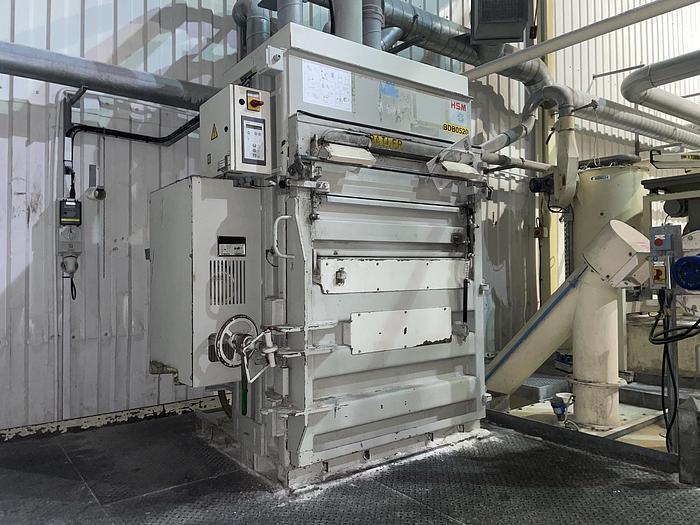 Used HSM VL 500.2 Vertical Baler