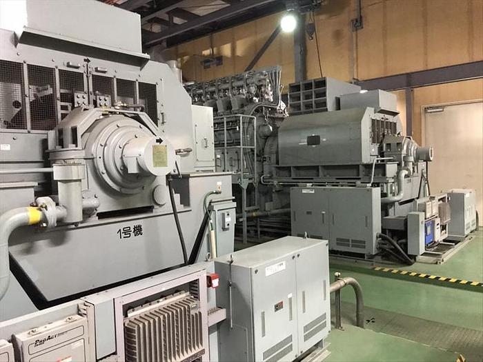 Niigata NTAA-SU gas generator.