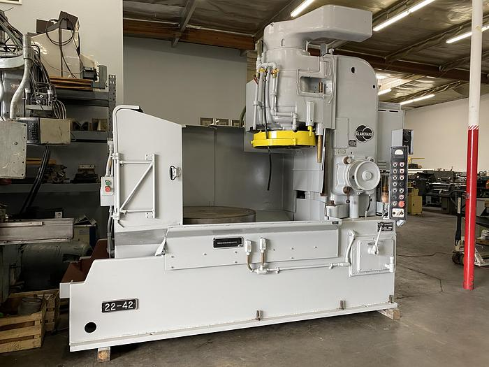 """Used BLANCHARD MODEL 22-42 ROTARY SURFACE GRINDER 42"""" #5654"""