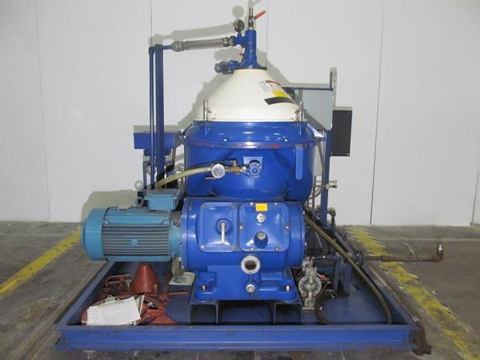 Used ALFA LAVAL MOPX 210 TGT-24-60 SELF CLEANING OIL PURIFIER CENTRIFUGE (#8906)