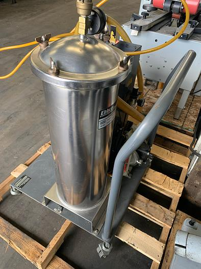 "Used EBBCO ""OIL SLICK""  PORTABLE OIL FILTRATION SYSTEM"