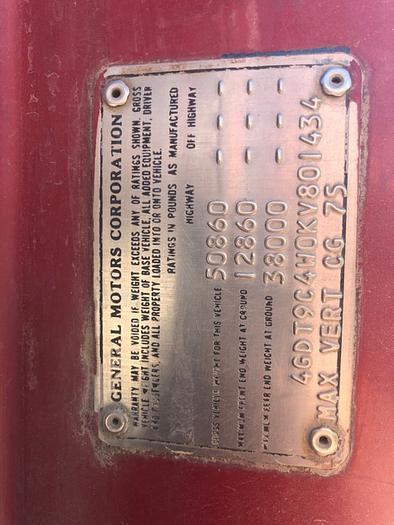 1989 Chev rolloff truck HB18238