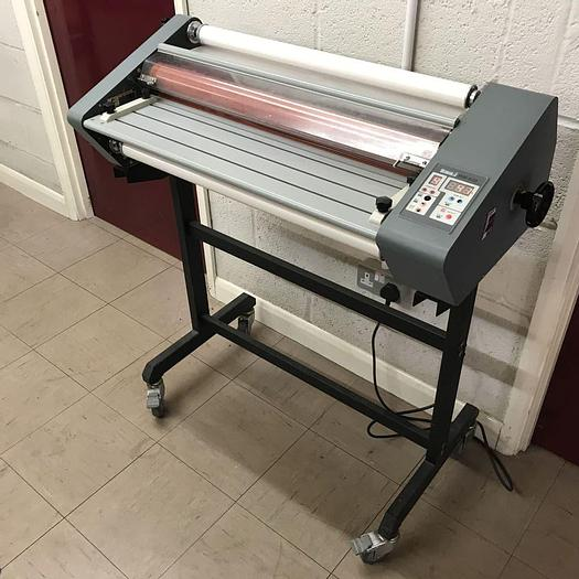 Used Pre-Owned Linea DH-650 Roll-Fed A1 Hot Laminator