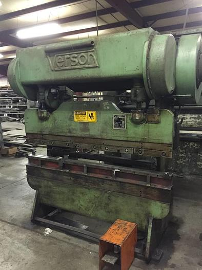 Used Verson 50 Ton Press Brake