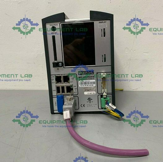 Used Phoenix Contact 470 PN 3TX Remote Field Safety Controller 24V