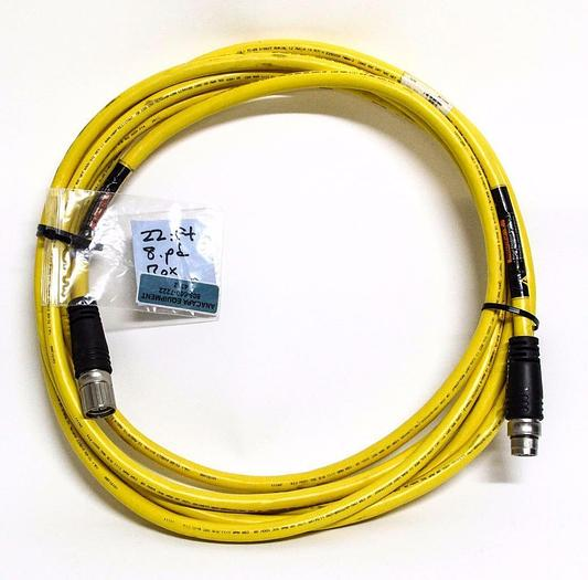Used Turck U-39122 CSMMS CKMS 822-288-7 Male to Female Cable (4312)