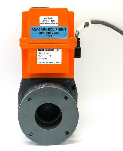 Used George Fischer +GF+ 198.150.433 - 199.116.208 Actuator Typ EA 20 (8729)W
