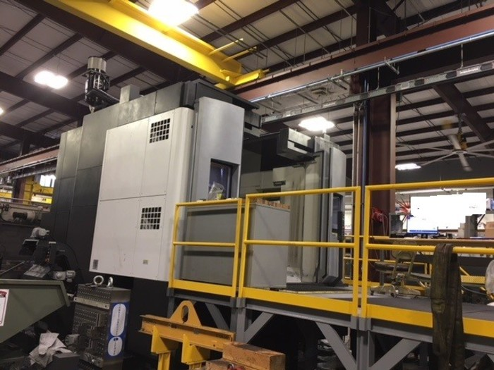 2014 Okuma VTM-2000YB 5 Axis Combination Lathe/Machining Center