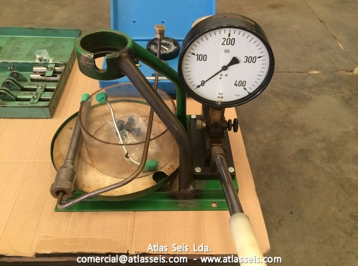 Fuel injector Nozzle Tester 400 bar