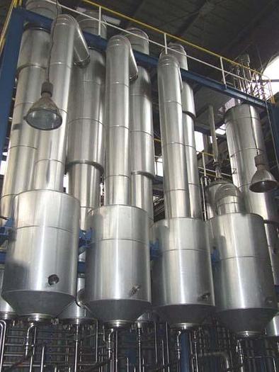 Linia do produkcji i zagęszczania soków owocowych