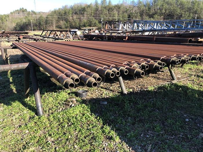 "Used 2019 Thompson Manufacturing Drill Pipe 4 1/2"" x 30'"
