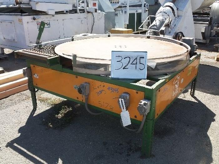 6' Diameter Turntable/Pack-off table