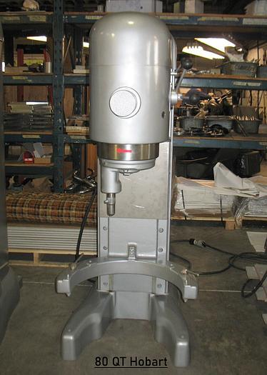 Used Hobart M802 80QT MIXER
