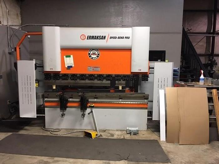 2015 110 Ton x 8.5' Ermak Speed Bend CNC Press Brake