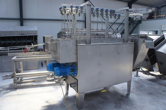 Used Poultry Slaughter Line 500 bph