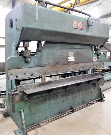 Used Chicago D & K 10' 90 Ton Mechanical Press Brake 810-L
