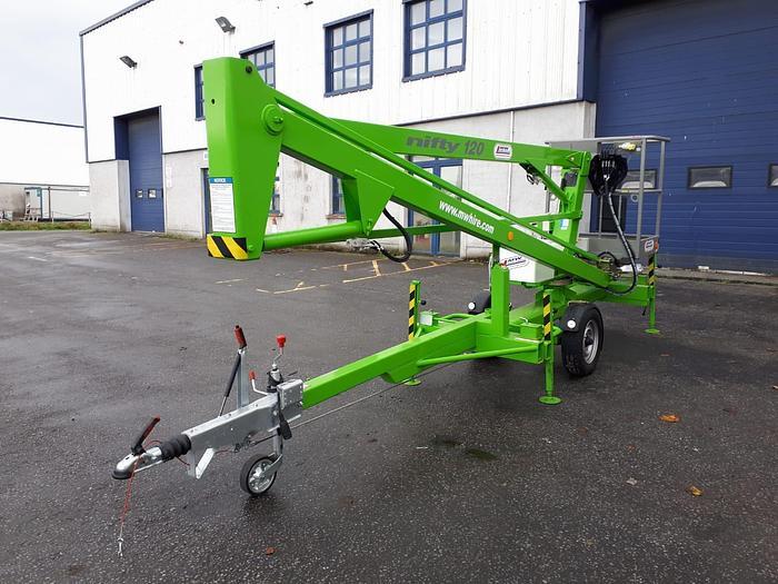 Niftylift 120 – 12m towable