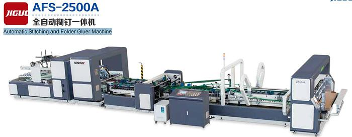Automatic Stitching and Folder Gluer Machine